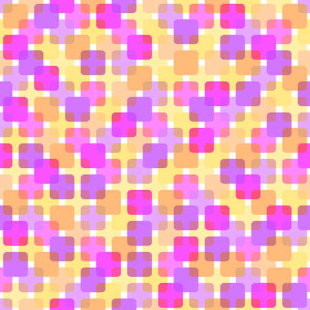 abstract square shapes. baby background; vector seamless pattern. simple pastel colored repetitive background. textile paint. fabric swatch. wrapping paper. continuous print