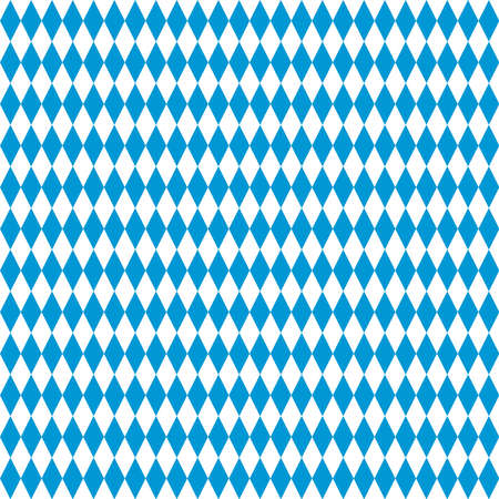 oktoberfest diamond checkered vector seamless pattern. bavarian flag. blue white simple traditional background. repetitive textile. fabric swatch. wrapping paper. continuous print. october festival