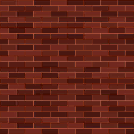 brick wall simple brown repetitive background. simple rectangle shapes. vector seamless pattern. textile paint fabric swatch. wrapping paper. continuous print. design element for banner ads card flyer