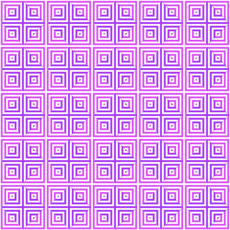 pink squares under a magnifying glass. vector seamless pattern. simple purple and white repetitive background. textile paint. fabric swatch. wrapping paper. continuous print. optical illusion