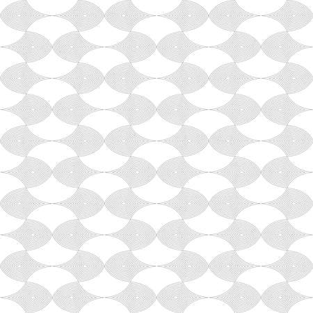 abstract geometric shapes. vector seamless pattern. simple black and white repetitive background. textile paint. fabric swatch. wrapping paper. continuous print. design element for card, ad, letter