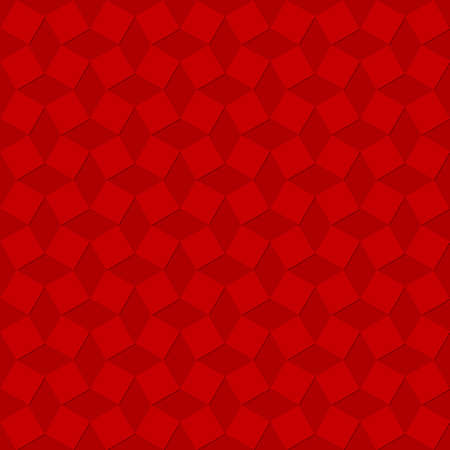 red squares with shadows. vector seamless pattern. simple repetitive background. textile paint. fabric swatch. wrapping paper. continuous print