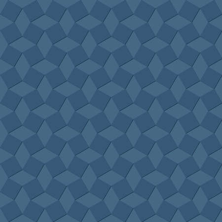 blue squares with shadows. vector seamless pattern. simple repetitive background. textile paint. fabric swatch. wrapping paper. continuous print. geometric design element for apparel, decor, phone case