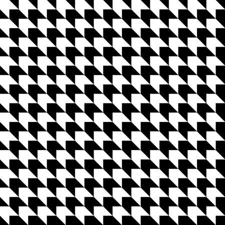 abstract geometric shapes. vector seamless pattern. simple black and white repetitive background. textile fabric swatch. wrapping paper. continuous print. design element for home decor, phone case Stock Illustratie