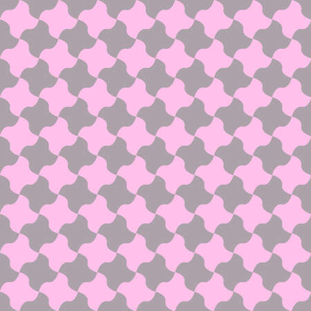 pepita seamless pattern. pin and gray vector image. simple marble-like checkered background. textile paint. repetitive backdrop. fabric swatch. wrapping paper. classic stylish texture. repeatable tiles Stock Illustratie