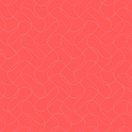 abstract intersecting waves. vector seamless pattern. simple pink repetitive background. textile fabric swatch. wrapping paper. continuous print. design element for phone case, apparel, decor