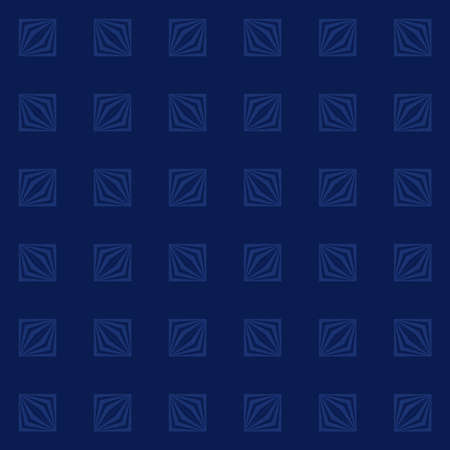 abstract geometric shapes. vector seamless pattern. simple blue repetitive background with cubes. textile fabric swatch. wrapping paper. continuous print. design element for home decor, phone case, apparel 矢量图像