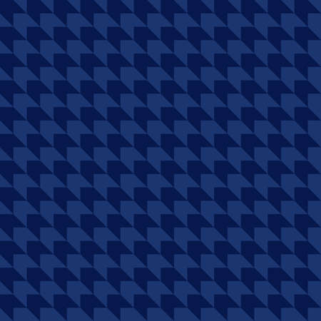abstract geometric shapes. vector seamless pattern. simple blue repetitive background. textile fabric swatch. wrapping paper. continuous print. design element for home decor, phone case, apparel