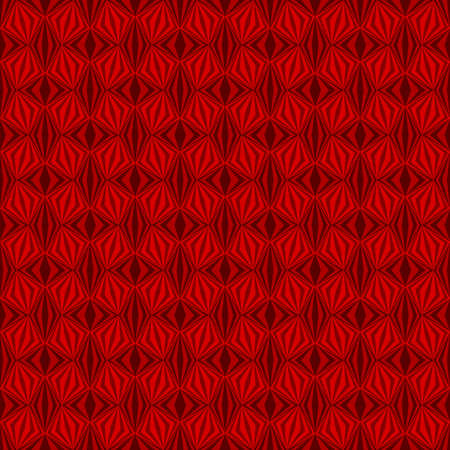 abstract dark red repetitive background with rhombus, squares. vector seamless pattern. textile fabric swatch. wrapping paper. continuous print. design element for home decor, phone case, apparel