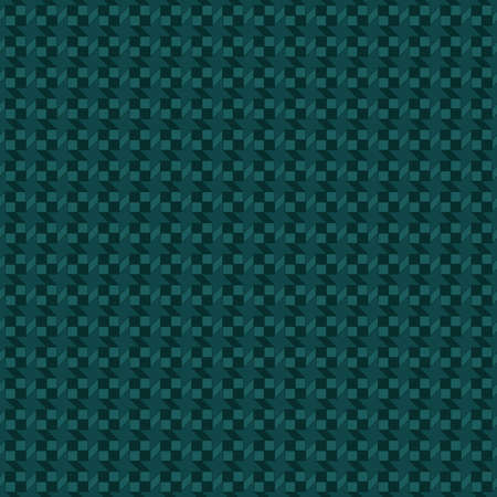grid structure. vector seamless pattern. sea green repetitive background. textile fabric swatch. wrapping paper. continuous print. geometric shapes. design element for home decor, apparel, phone case Stock Illustratie
