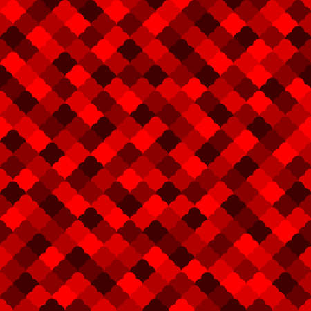 red mosaic repetitive background. abstract geometric shapes. vector seamless pattern. fabric swatch. wrapping paper. classic ornament. modern stylish texture. design element for apparel 向量圖像