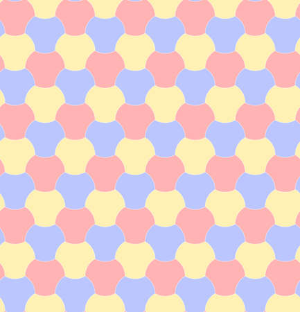 abstract geometric shapes. vector seamless pattern. pastel colored baby repetitive background. fabric swatch. wrapping paper. continuous print. design element for home decor, textile, cloth, apparel 向量圖像