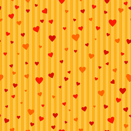 lines and hearts. vector seamless endless pattern. valentine repetitive striped corrugated background. fabric swatch. wrapping paper. continuous print. design template for textile, card, banner, decor