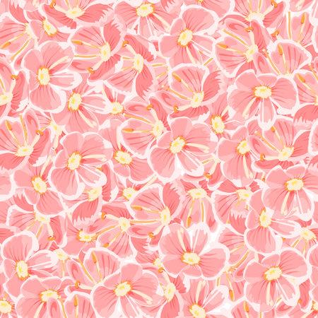 Flower seamless background 向量圖像