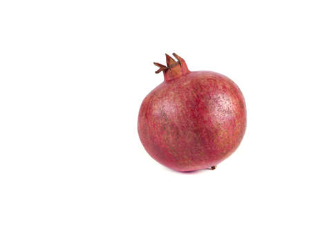 Fruit composition of pomegranate on a white background Stock Photo - 17365334