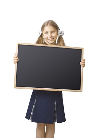 the schoolgirl width a school board photo