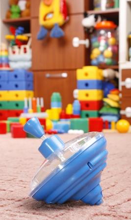 humming top on room for children Imagens