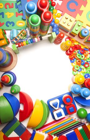 grens van heel veel kinderen speelgoed