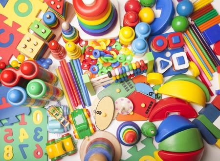 very many kids toys Imagens