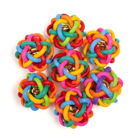 many colour toys