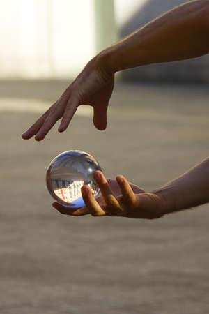 crystal sphere: magic ball