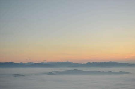 The Sea of Mist at Doi Samer Dao