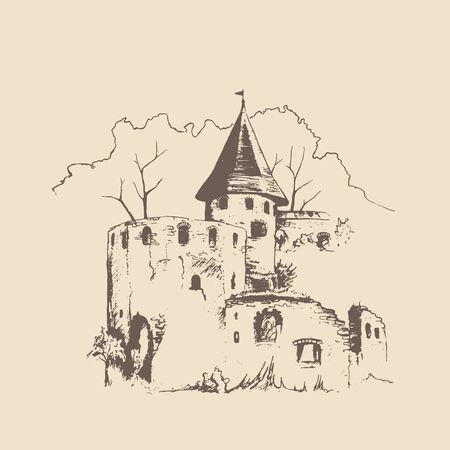 gothic architecture: Old castle