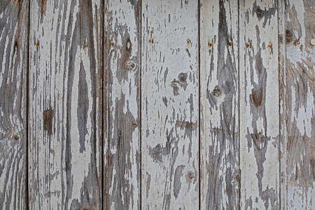 Texture background wooden wall weathered chipped white paint Stok Fotoğraf