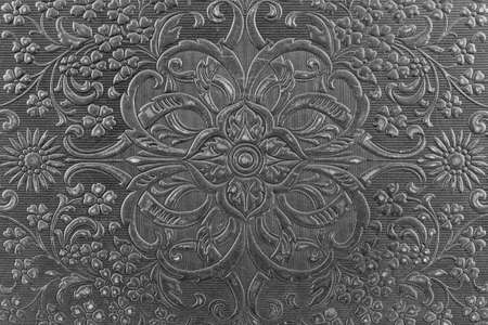 Texture background antique embossed leather book cover Stok Fotoğraf