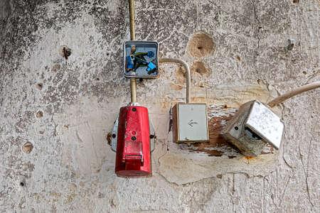 Broken ailing sockets high voltage