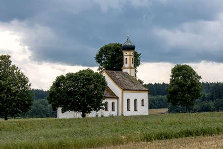Chapel St. Johann Bavaria Germany Stock Photo