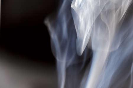 Smoke pattern on gray anthracite background
