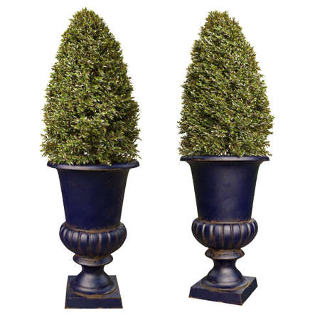 Decorative flowerpots for parks and entrance groups of houses.
