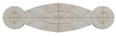 Pattern mosaic made of marble and stone for the floors of walls of furniture
