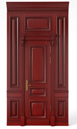 Classic wall panels and doors for interiors of interiors of houses, billiard rooms, offices and dining rooms