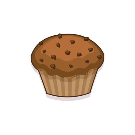 Illustration of a muffin Illustration