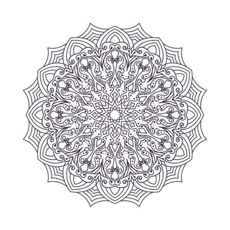 Mandala designs for adult coloring books, decorations, etc.
