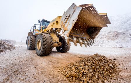 front loader: Big front loader