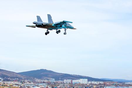 interceptor: Military jet in the air