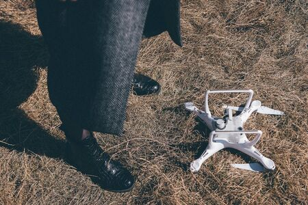 hit tech: Accident with a drone
