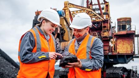 Travailleurs miniers du charbon Banque d'images - 78694953