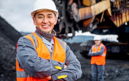 石炭鉱山労働者