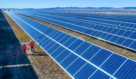 electricity export: solar power station