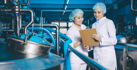 milk factory production