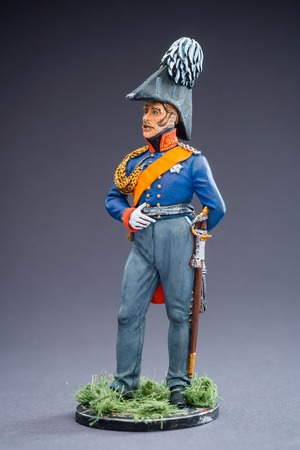 Tin soldier toy souvenir metal army miniature figure