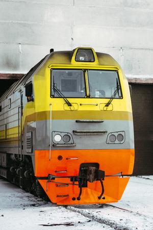 russian train winter