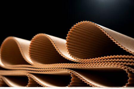 Papierfabrik Prozesstextur Kartonindustrie braun