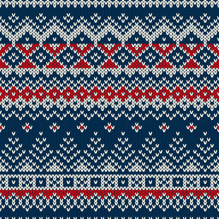 Winter Holiday Seamless Pattern