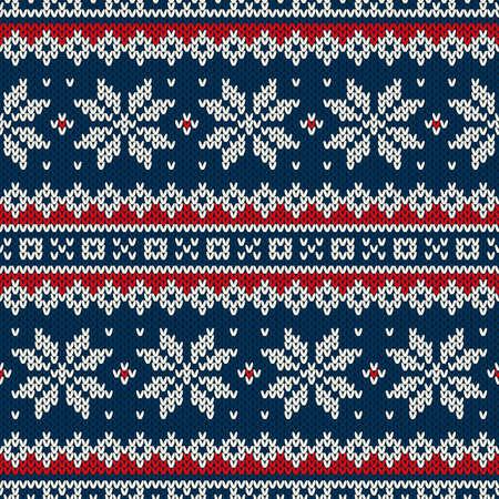 Winter Holiday Seamless Pattern Reklamní fotografie - 32483385