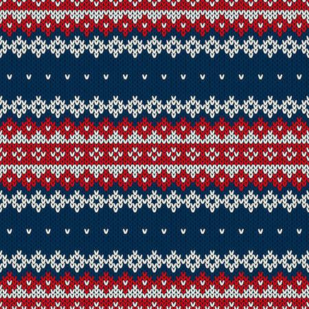 winter holiday: Vacanze invernali Seamless Pattern